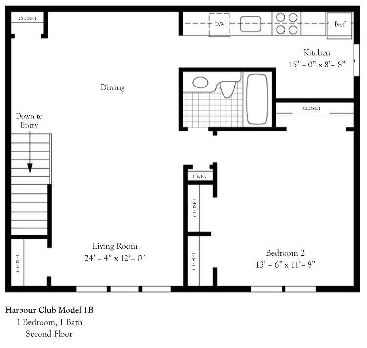Harbor Club Apartments: Apartments